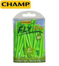 "30 CHAMP ZARMA FLY TEES- LIME GREEN 2 3/4"" LONG"