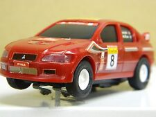 1/43 MITSUBISHI WR 02 Red  Slot Car  UNTESTED! Manufacturer Unknown Nice  *