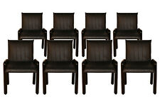 """Eight Guido Faleschini Italian """"Dilos"""" Dining Chairs By i4 Mariani For Pace"""