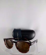 Brand New Authentic John Varvatos Sunglasses V774 Brown/Copper Redwood Frame