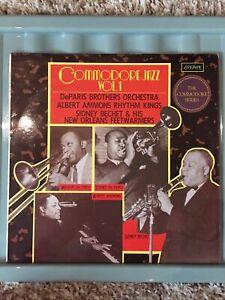 DeParis Brothers, Albert Ammons, Sidney Bechet. Commodore Jazz Vol 1