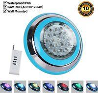Unterwasser 54w LED Pool Light IP68 mit Fernbedienung AC12V für Schwimmbad