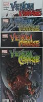 💥 VENOM VS CARNAGE #1 2 3 4 COMPLETE 🔑 1st TOXIN Spider-Man CLAYTON CRAIN 2004