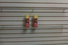 "Wire Slatwall/Gridwall Shelf 48"" x 6"", Gray Color"