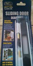 BRAND NEW White Cal Double Lock BOLT SLIDING DOOR DEADBOLT home security