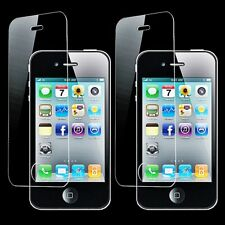 2x Verre de Protection para Apple Iphone 4 4S 4G Folio Panzer Pantalla Compuesto