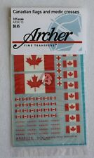 Archer 1/35 Canadian Flags and Medic Red Cross Insignias [Decal] AR35115