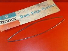 NOS 1979 1980 Dodge Plymouth Sapporo Challenger Colt Champ door edge guards 2 dr