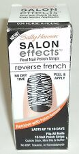 Sally Hansen Salon Effects Nail Polish Strips Reverse French HORSE A-ROUND 004