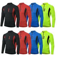 Kompressions Shirt Funktions Laufshirt Top Herren kurzarm Fitness Sport DE