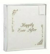 Elegant Happily Ever After Gold Wedding Photo Album Celebration Memories