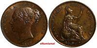Great Britain Victoria (1837-1901) Copper 1848 1 Farthing aUNC S-3950 KM# 725