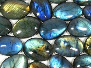 Labradorite Palm Stones - Labradorite Crystal with beautiful flash X1 supplied