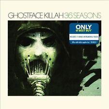 Ghostface Killah (Tommy Boy)  36 Seasons cd with 11 bonus  tracks Best Buy