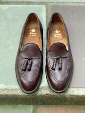 Alden 663 Burgundy Calfskin Tassel Loafer Size 10.5D Aberdeen Last