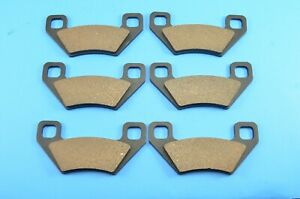 Brake Pads for Arctic Cat 1000 H2 Mud Pro Prowler Xtz 2009-2011 Front Rear