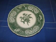 "Speiseteller flach ""Spode Green Camilla"" Ø 26 cm England Keramik (P-110)"