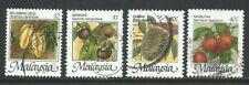 1986 Fruits of Malaysia stamps x 4