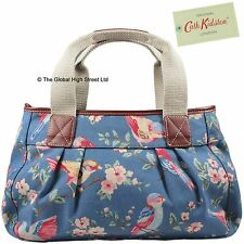 Cath Kidston Pleated Shoulder Bag British Bird (blue) *100% authentic* BNWT