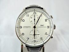 IWC Portuguese Chronograph Auto Ref. IW371404 SS Case  Box & Papers COMPLETE
