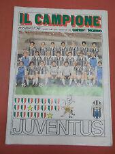 """POSTER-STORY """" IL CAMPIONE """" GUERIN SPORTIVO SCUDETTO N° 20 GIUGNO 1982 IK-10-65"""