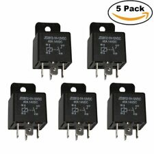 5 PCS Heavy Duty 12V DC Relay 40A Automotive Switch Power 4PIN SPST Relays - AUS