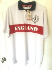 New With Tags England Victorious MMX Rugby Polo Short Sleeve Men's Shirt Size XL