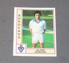 GIRESSE GIRONDINS BORDEAUX LESCURE RECUPERATION PANINI FOOTBALL 80 1979-1980