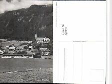 502795,Lungern Strandbad Kirche Kt Obwalden