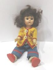 Vintage Jointed 8� doll Vh Ii4 A, Ma1 958 original outfit shoes socks Euc