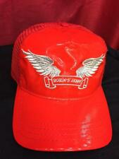 ROBIN JEAN HAT RED PATENT LEATHER  $79.00