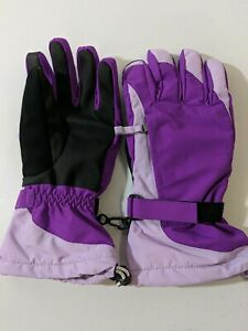 Lands' End Girls Squall Glove, Twilight Violet, Size Large, Free Shipping, NWOT!