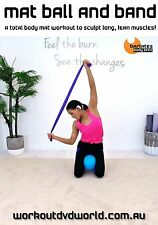 Pilates EXERCISE DVD - Barlates Body Blitz MAT WITH BALL AND BAND WORKOUT!