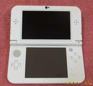 【w/SD4G&Pen】New Nintendo 3DS XL LL Console Only White Japanese Ver. Import Japan