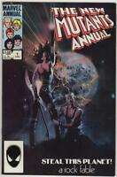 NEW MUTANTS Annual #1, NM-, CannonBall, Claremont, Marvel 1983 1984,more in stor