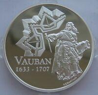 France 1 1/2 EURO 2007 VAUBAN Silver Proof Coin !!!