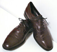 Mens Oxford Italian Leather Shoes vintage 80s Pierre Cardin UK Size 9