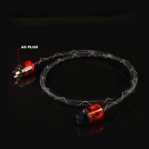 16mm OFC Copper HIFI AU NZ AC Power Cable AU Mains Power Cord TUBE AMP DVD
