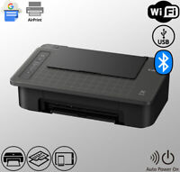 Wireless Bluetooth Printer WiFi USB AirPrint Google Cloud (Ink Not Included)