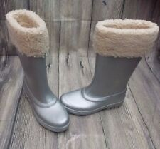 UGG MILLCREEK WELLINGTON BOOTS>BRAND NEW>GENUINE>4.5uk>£170+>WELLIES>SILVER>