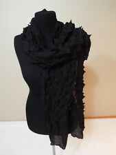 SHAWL Head WRAP Scarf hat cover black color new free ship