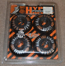 NIP Vtg Set of 4 Hyper 72mm 80a H-250 Inline Roller Skate Wheels Street Hockey