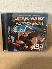 Star Wars: Episode I: Jedi Power Battles (Sega Dreamcast, 2000) CIB