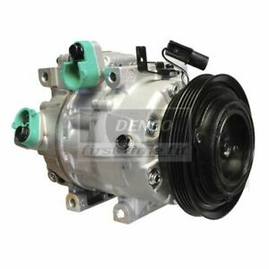DENSO 471-6035 Compressor w/ Clutch For 06-09 Hyundai Accent