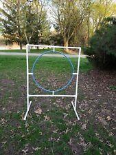 Dog Agility Equipment-Round Hoop Jump, Training Agility Jump Ring