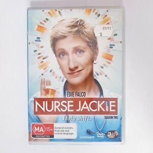 Nurse Jackie Season 2 DVD Region 4 AUS TV Series Free Postage