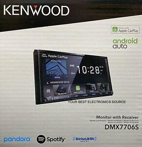 "NEW Kenwood DMX7706S 6.95"", Digital Media Receiver Apple CarPlay, Android Auto"