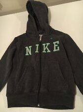 Nike Boys Zip-up Hoodie Sweatshirt Size 4 Athletic Sports EUC