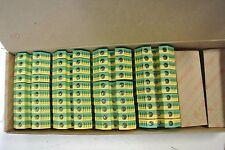 Weidmuller Terminal Blocks NIB Cat: WPE10 1010300000 Green/Yellow Lot of 40