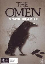 The Omen: 5 Movie Collection (The Omen / Damien: Omen II  . - DVD - NEW Region 4
